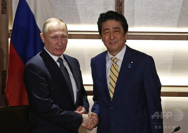 ロシア、領土で譲らず=「信頼醸成」で経済協力優先-日ロ首脳会談