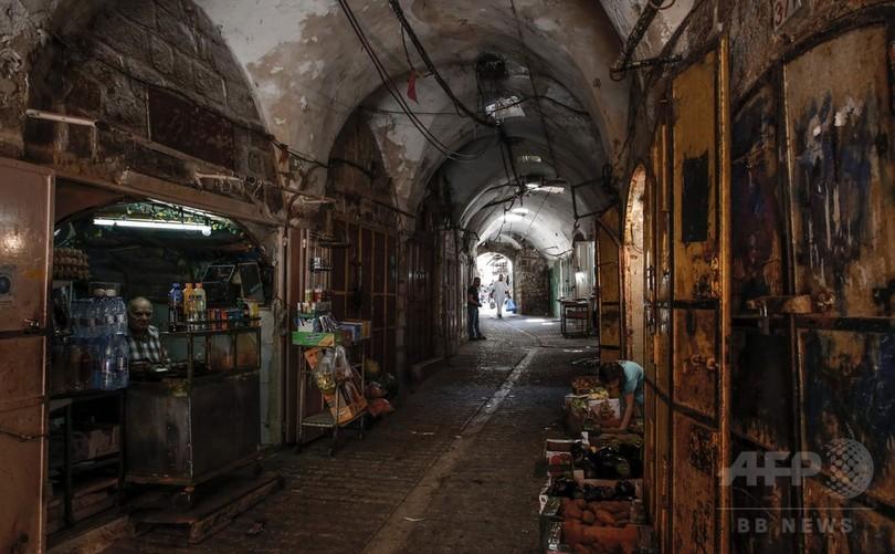 ユネスコ、ヘブロン旧市街を危機遺産に イスラエル猛反発
