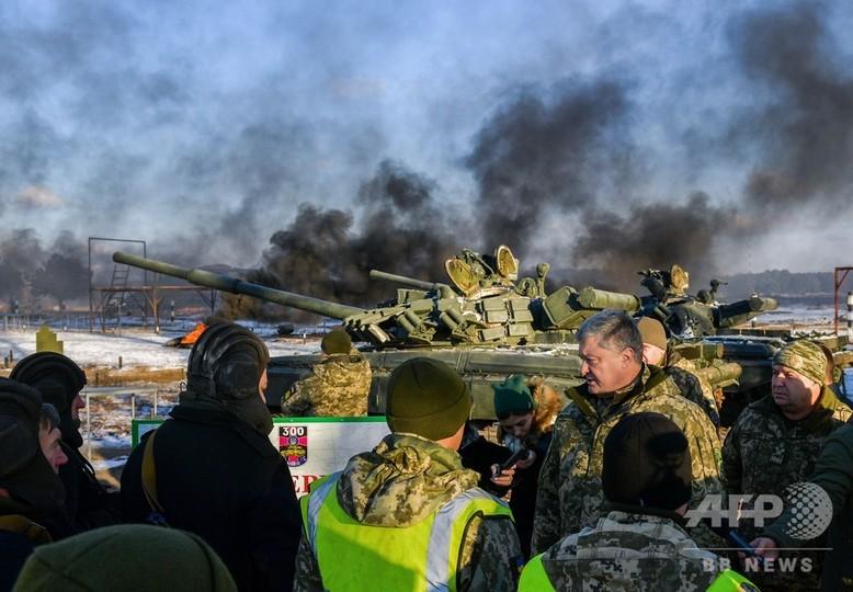 ウクライナ大統領、NATOに軍艦派遣要請 ロシアによる艦船拿捕受け