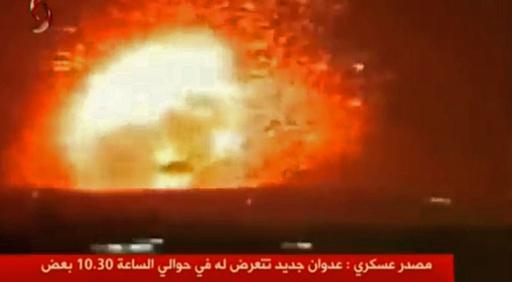 シリア軍基地にミサイル攻撃、イラン戦闘員ら26人死亡