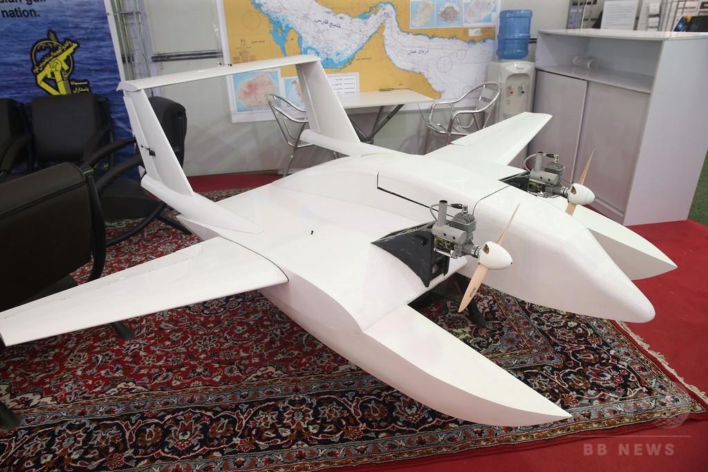 イラン、「自爆無人機」を公開