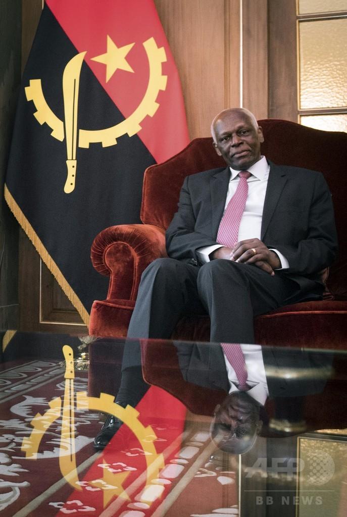 38年の長期政権続いたアンゴラ、大統領に「黄金の引退プラン」を用意