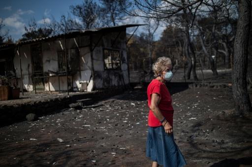 ギリシャの山火事、放火で発生か 「重大」な情報で捜査開始