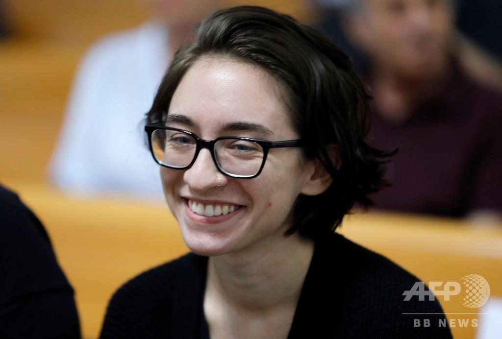 ボイコット理由に空港で拘束2週間、米留学生に入国許可 イスラエル最高裁