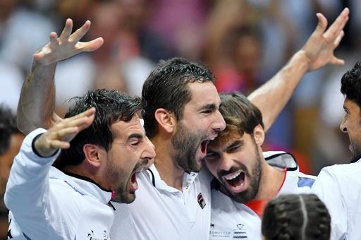 クロアチアがフランスを撃破、デビス杯決勝ではアルゼンチンと対戦