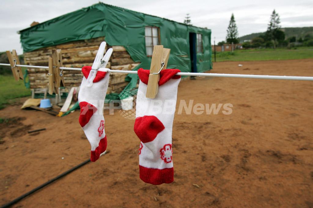 蚊は汚れた靴下のにおいが好き?マラリア対策で新戦法、タンザニア