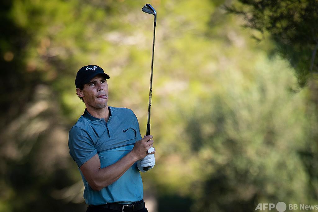 ナダル、プロゴルフ大会で6位に 別競技でも優れた腕前