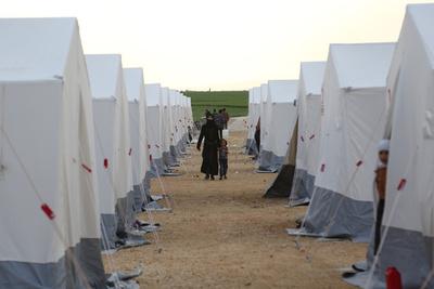 内戦と国内外避難で激変したシリアの人口分布図