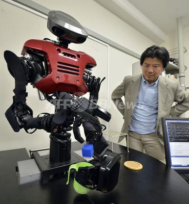 世界初の「考えるロボット」、東京工大研究所が開発