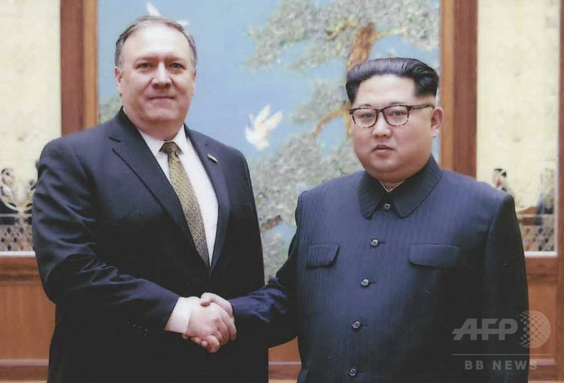 トランプ氏、ポンペオ長官を北朝鮮に派遣 首脳会談に備え