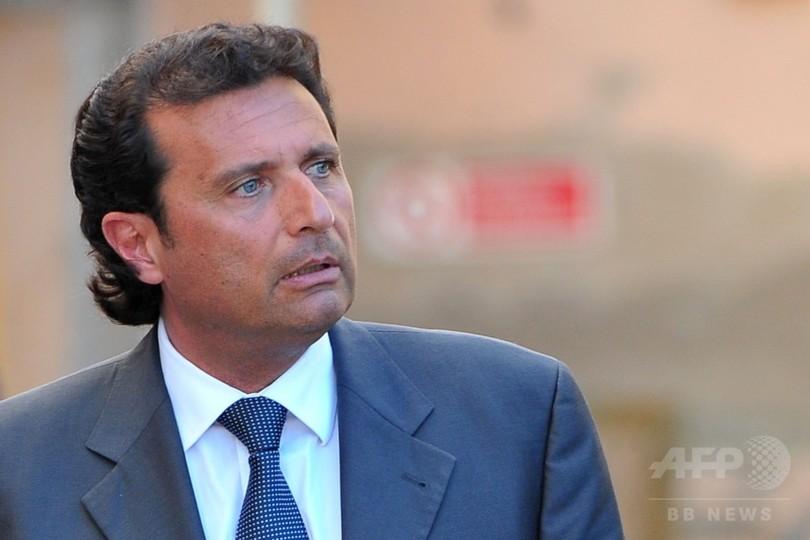 イタリア客船座礁、船長の禁錮刑確定 事故から5年