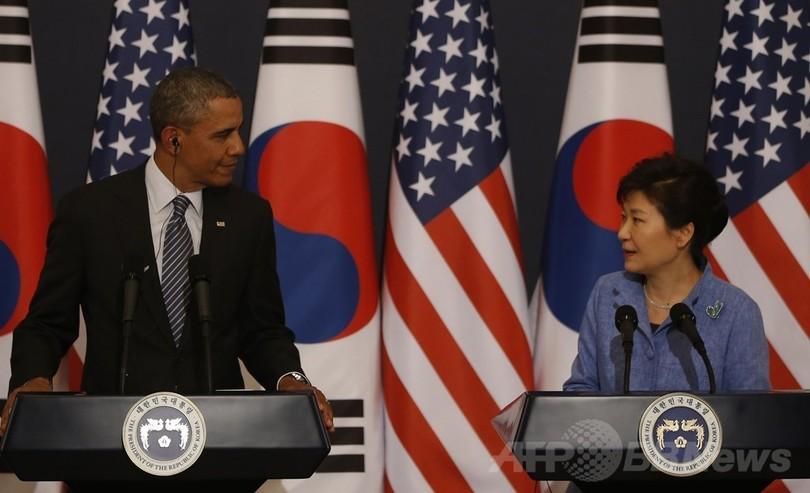 朴大統領は米国に仕える「売春婦」、北朝鮮が中傷