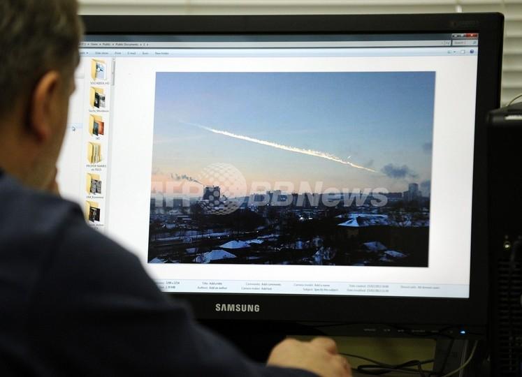 隕石が空中爆発、約500人負傷 露ウラル地方