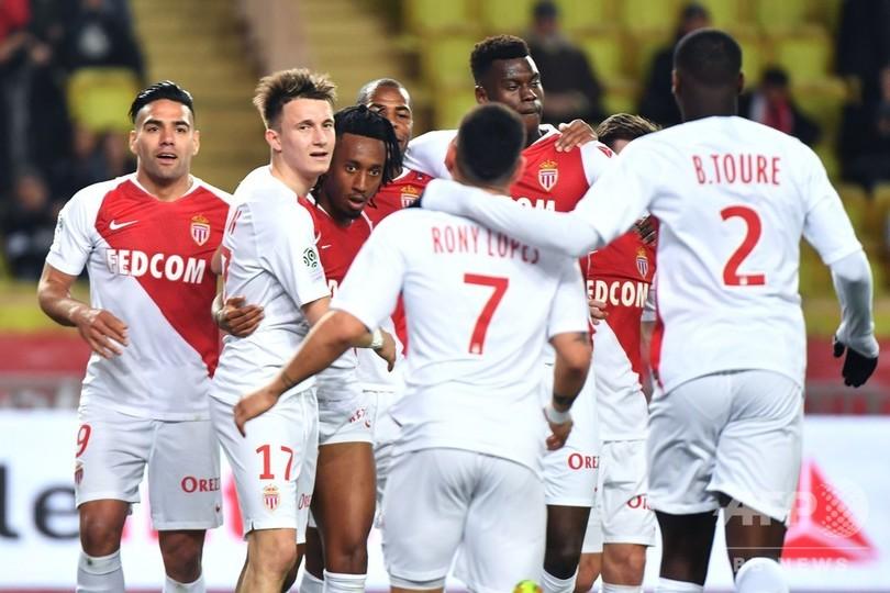 モナコが降格圏脱出、マルセイユはバロテッリ弾などで今季初の3連勝