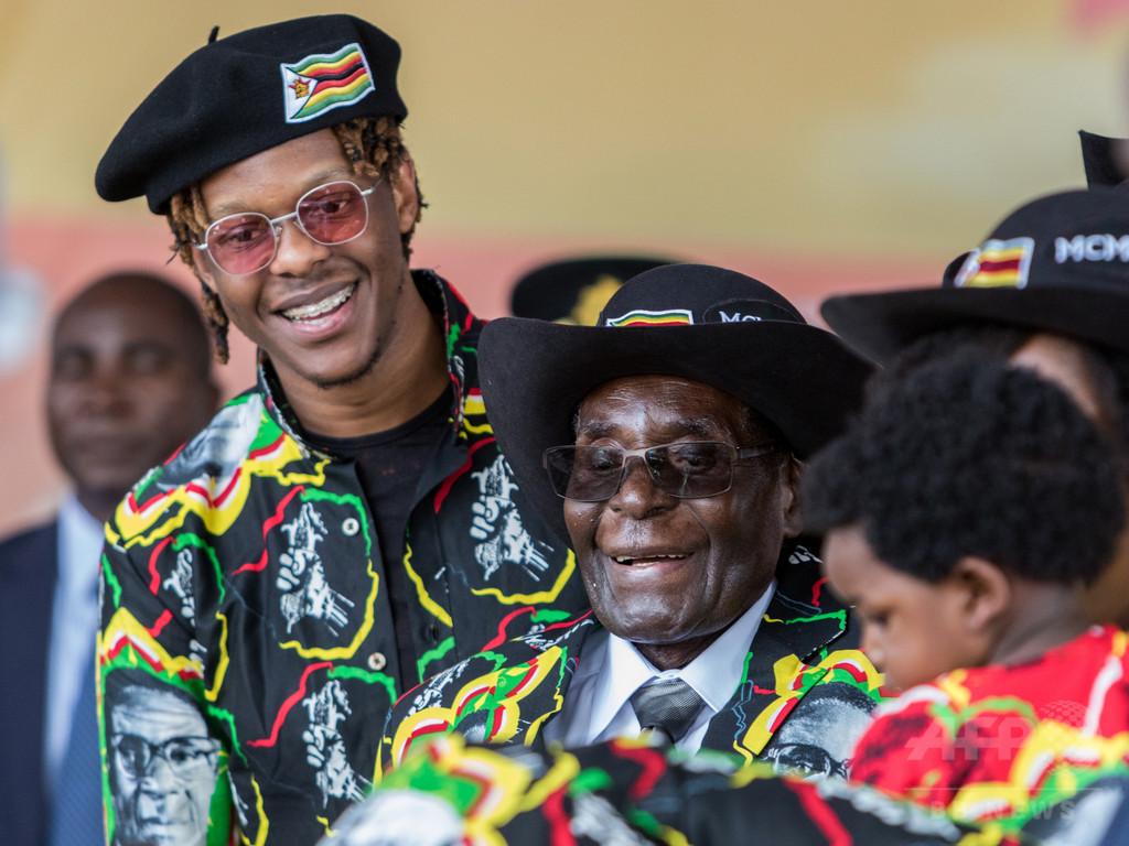 ムガベ前大統領の誕生日、祝日に ジンバブエ