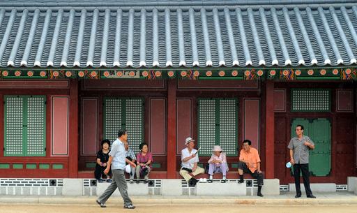 夏休みで賑わう韓国の観光地