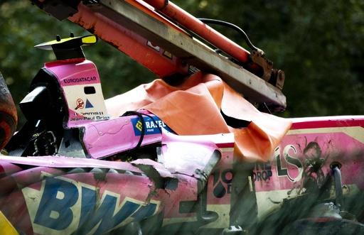 F2ベルギーで壮絶クラッシュ、フランス期待の22歳の選手が死亡