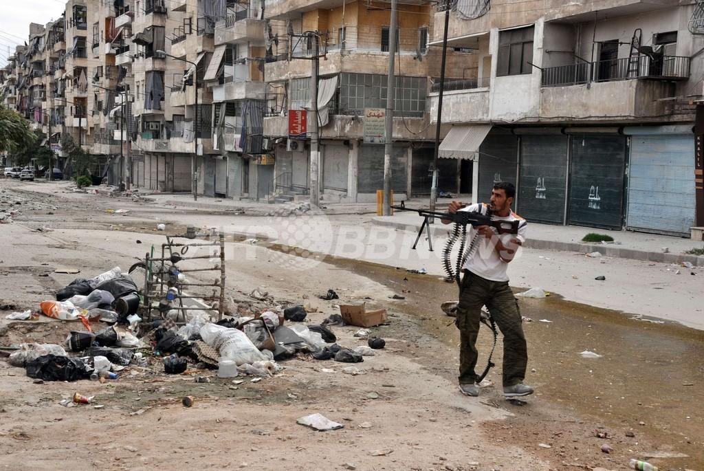 シリア北部の町占拠、反体制派とアルカイダ系勢力 対立の背景