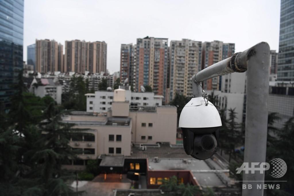 中国・成都の米総領事館、退去の準備進む 閉鎖命令受け