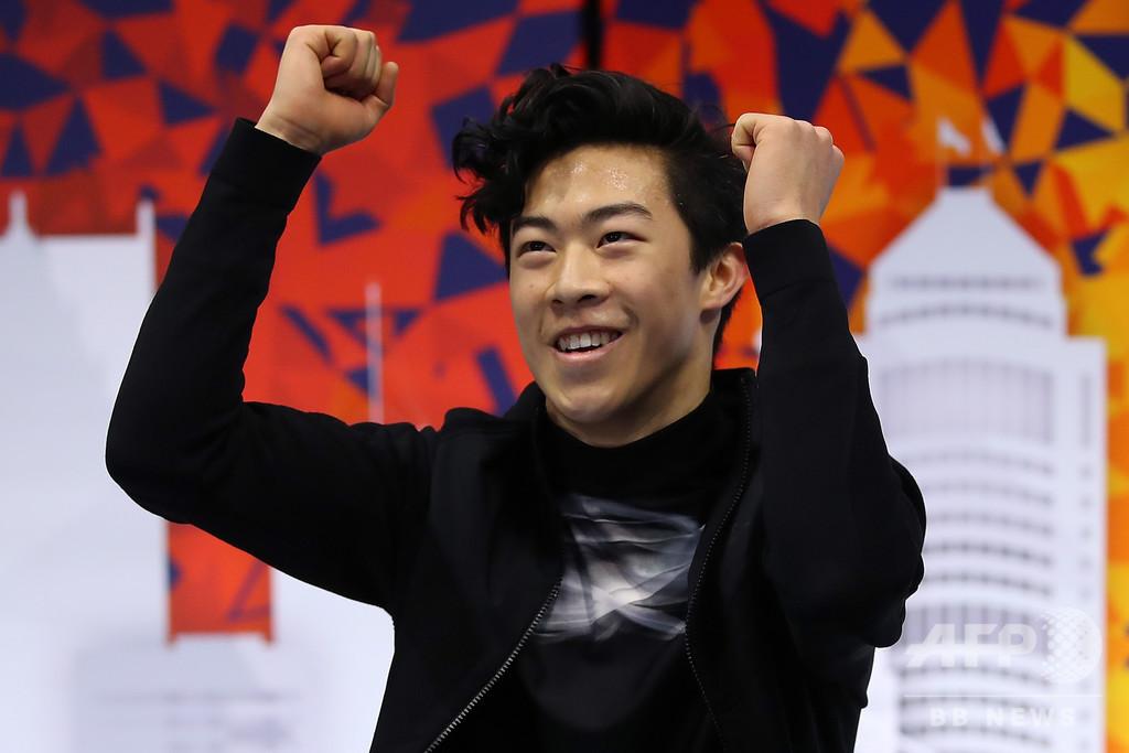 世界王者チェン、スケート・アメリカ3連覇