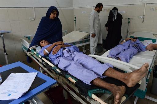 アフガニスタン東部で自爆攻撃 68人死亡、165人負傷
