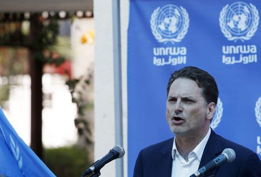 国連パレスチナ機関のトップ辞任、職権乱用疑惑などで監査対象