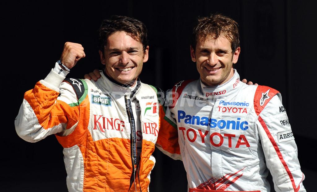 フィジケラが通算4度目のポールポジション獲得、ベルギーGP