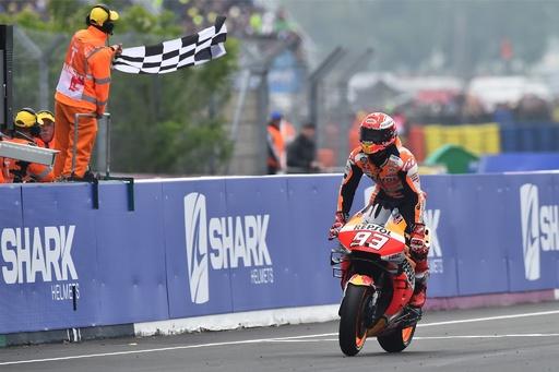 マルケス優勝でホンダ300勝目、Moto2は弟が制す フランスGP
