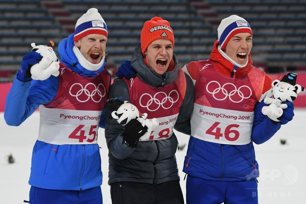 ウェリンガーがノーマルヒルで金、ソチ五輪2冠のストフはメダル逃す