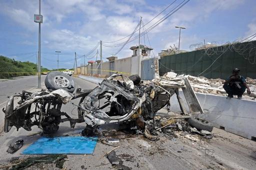 ソマリア首都で自爆攻撃、13人死亡 アルシャバーブが犯行声明