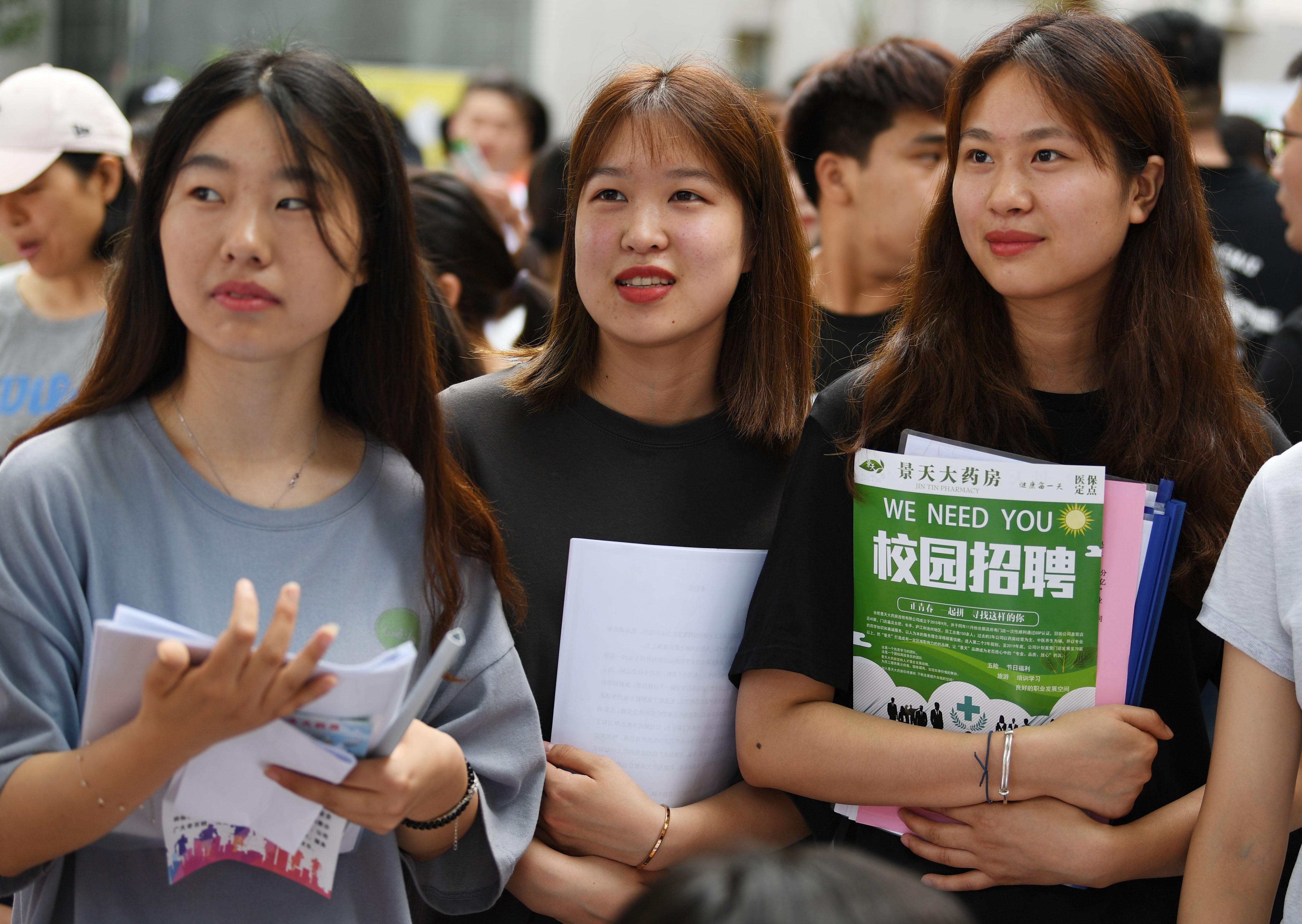 中国大卒者のIT業界就職割合、依然上昇続く