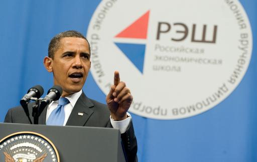 オバマ大統領、モスクワで講演 米露協力関係の必要性を強調