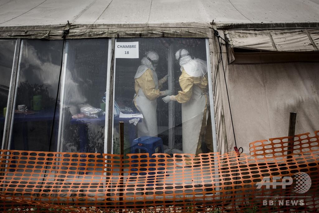 エボラ出血熱の死者1000人超える、コンゴ民主共和国