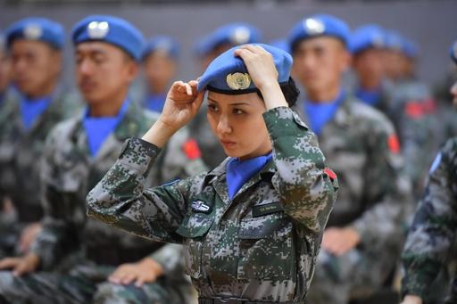 地雷除去作業を13年間続けて死傷者ゼロ、レバノンの中国平和維持軍