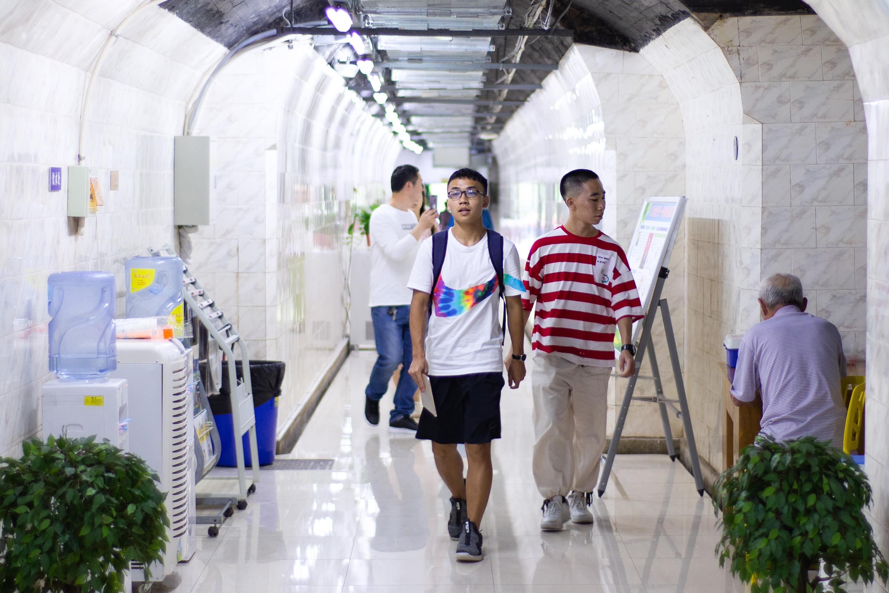 暑い夏は防空壕で涼を、江蘇省南京市が一般開放