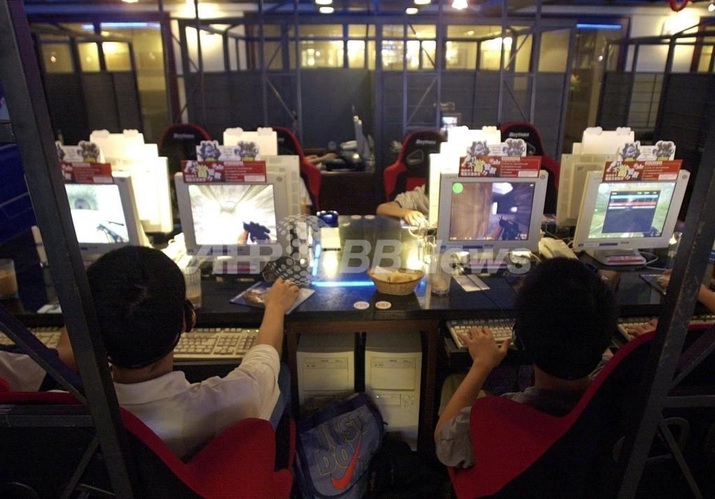 ネットカフェでゲーム中に男性死亡、誰も気付かず放置 台湾