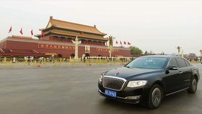 動画:景気減速も販売台数激増、中国国産高級車「紅旗」