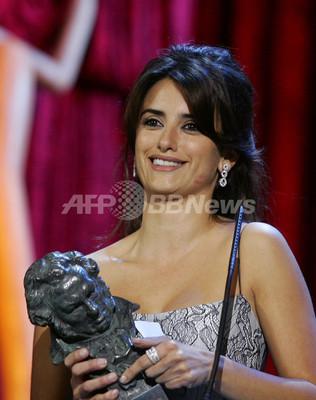 ペネロペ・クルス 国内最高峰のゴヤ賞主演女優賞に輝く - スペイン