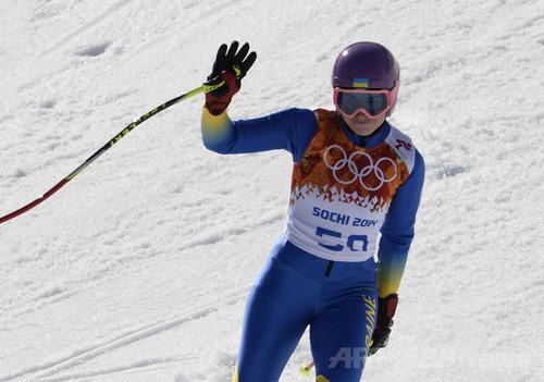スキーのウクライナ代表選手、自国政権に抗議し棄権 ソチ五輪