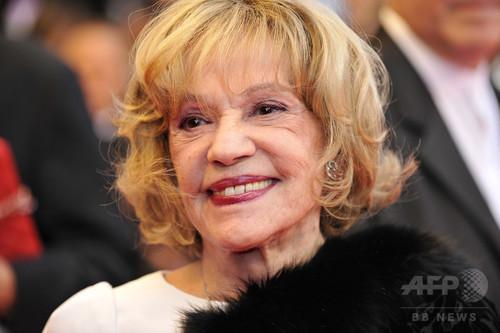 仏大女優、ジャンヌ・モローさん死去 89歳