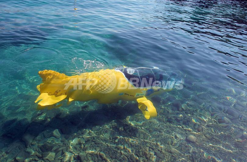 ペダルで漕ぐ潜水艦「Scubster」、フランスで開発