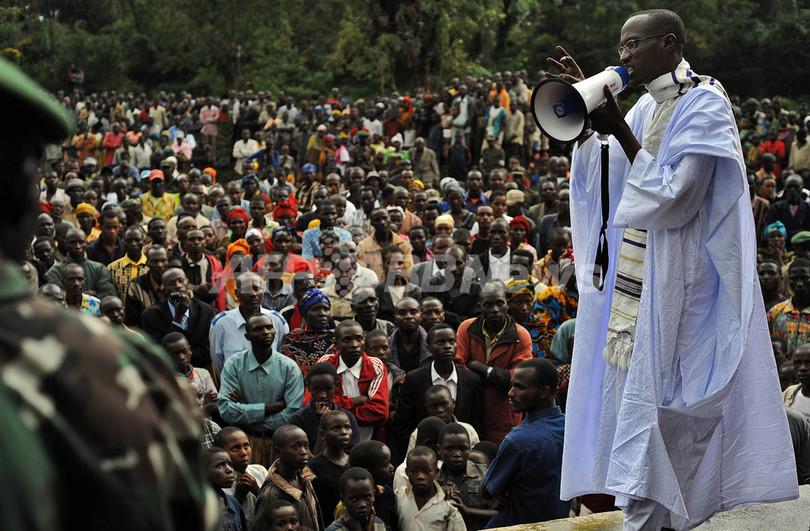 泥沼化するコンゴ紛争、仏・ベルギーが支援呼び掛け