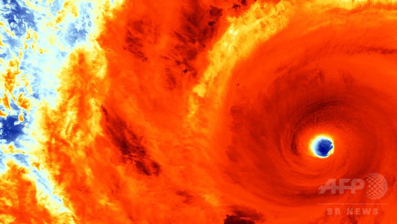 中国や日本を襲う台風、気候変動で強大化か 研究