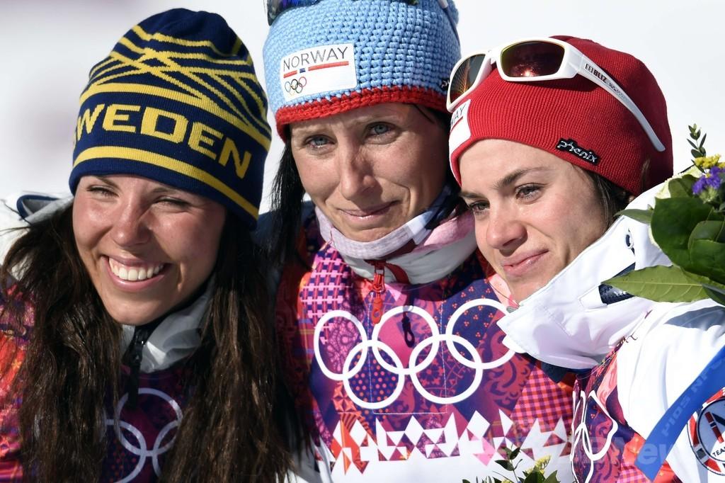 ノルウェーのビョルゲンが通算4個目の金メダル、ソチ五輪