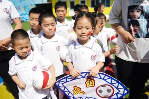 幼児サッカーに注力する中国、特色ある幼稚園3000か所選択