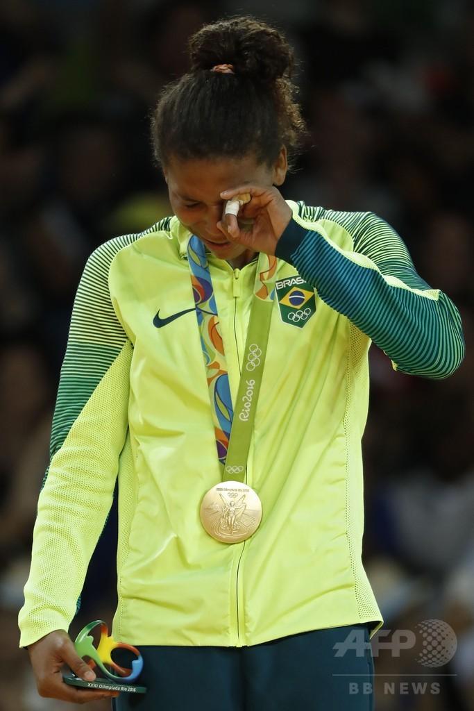 ブラジル勢が今五輪初の金獲得、柔道女子57キロ級制したシルバ