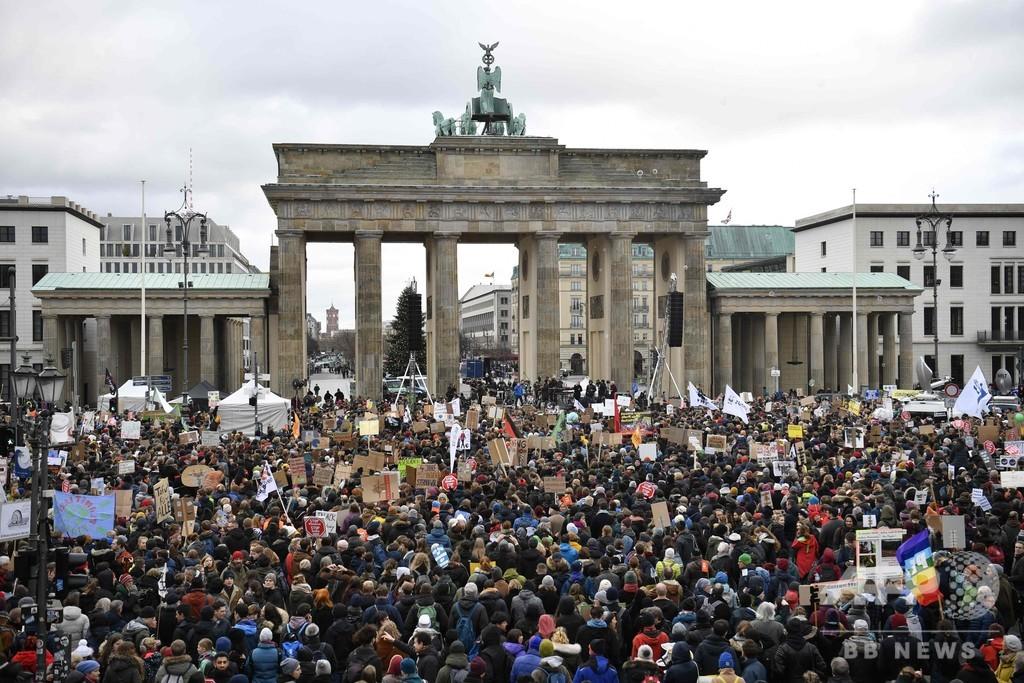 温暖化対策を!COP25前に欧米やアジアなど世界各地でデモ