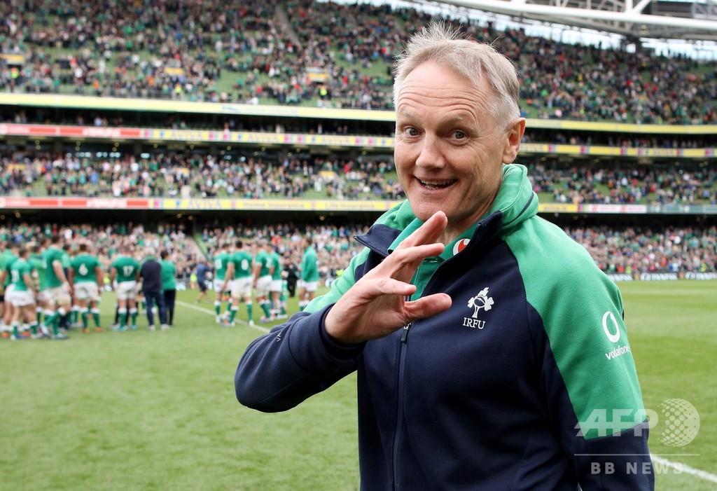 W杯で日本と戦うアイルランドが世界1位に、それでも指揮官は「NZが優勝候補」