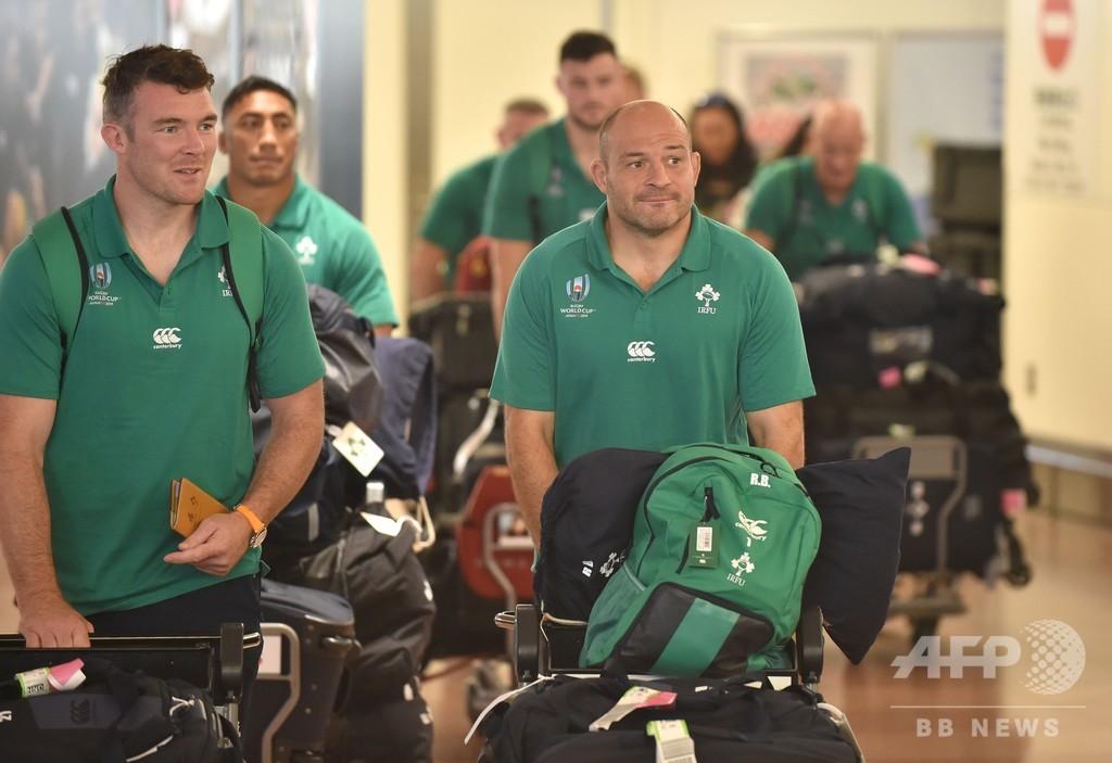 世界1位アイルランドが来日、ラグビーW杯で日本と同組