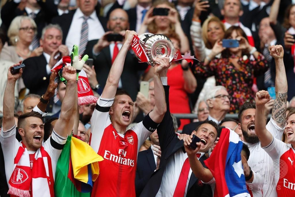 ベンゲル監督が最多7回目のFA杯制覇、アーセナルはチェルシー撃破